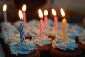 1歳誕生日のケーキ