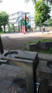 たけのこ公園唯一の水場
