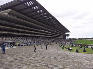 東京競馬場の人混み