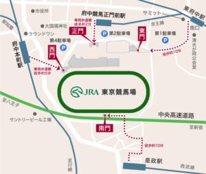 東京競馬場アクセス