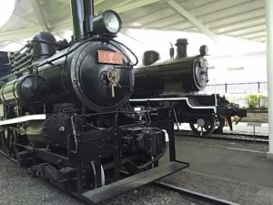 青梅鉄道公園の機関車