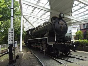 見れる機関車