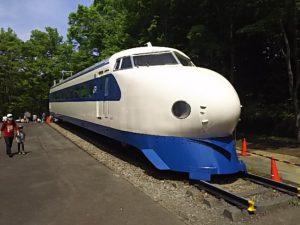 青梅鉄道公園の新幹線