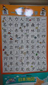 くもんポスター漢字