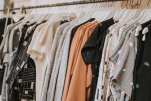 母親の服装